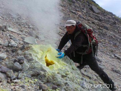 Восхождение на вулкан Баранского (1134м). о.Итуруп. (1 день)
