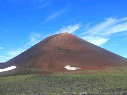 Кунашир, восхождение на вулкан Тятя (1819м)